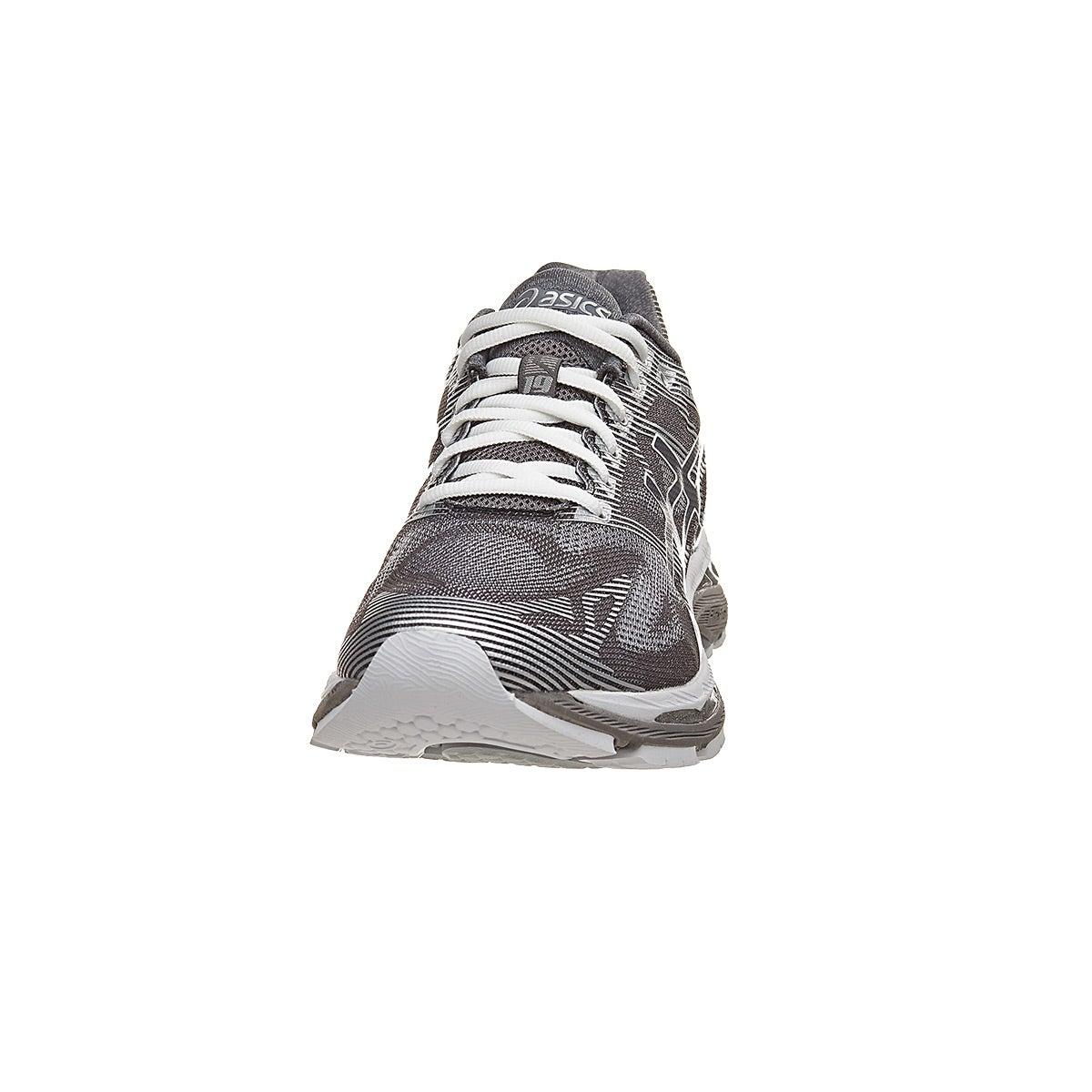 save off c5435 5f7c7 ASICS Gel Nimbus 19 Men's Shoes Carbon/White/Silver 4E 360 ...