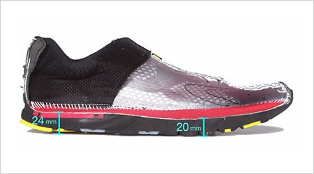 Learning Center: Running Shoe Stack Height