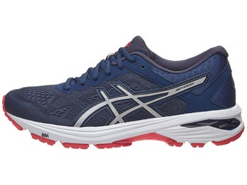 15962aeec3df ASICS GT 1000 6 Women s Shoes Blue Silver Red D