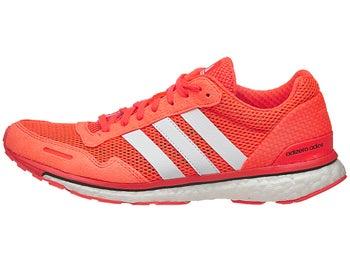 sale retailer beedc 8ece3 adidas adizero adios Boost 3 Womens Shoes RedWhite