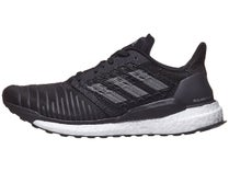 best service 33b20 5e6ef New! adidas Solar Boost Core Black Grey White