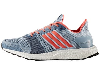 6c6ecab43266f adidas Ultra Boost ST Women s Shoes Blue Coral Grey