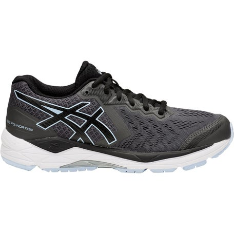 Melodramático reforma Penetrar  ASICS Gel Foundation 13 Women's Shoes Dark Grey/Black