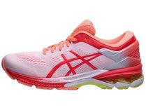 3501b50953 ASICS Gel Kayano 26 KAI Women's Shoes White/Lazer Pink