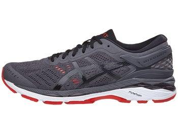 0387b3915c1 ASICS Gel Kayano 24 Men s Shoes Dark Grey Black Red