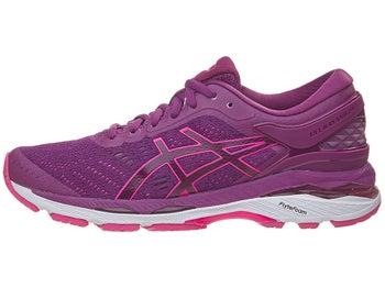 9f18a3d53b97 ASICS Gel Kayano 24 Women s Shoes Prune Pink White