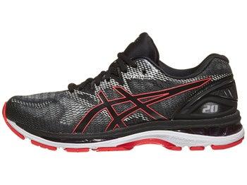 huge discount 81df6 2b5c4 ASICS Gel Nimbus 20 Men s Shoes Black Red Alert