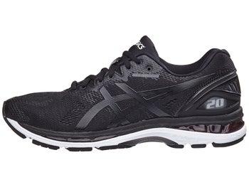 20cf0d732c ASICS Gel Nimbus 20 Men s Shoes Black White Carbon 2E