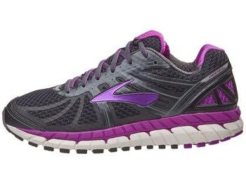 44fdbe61cca88 Brooks Ariel 16 Women s Shoes Anthracite Purple Grey D