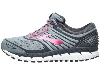 a222459d379 Brooks Ariel 18 Women s Shoes Grey Grey Pink