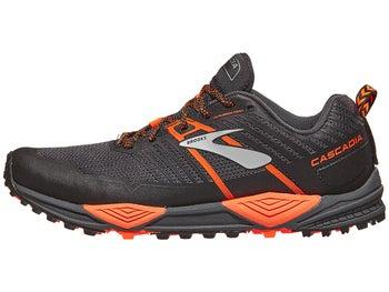 0fc940642d1 Brooks Cascadia 13 Men s Shoes Grey Black Orange