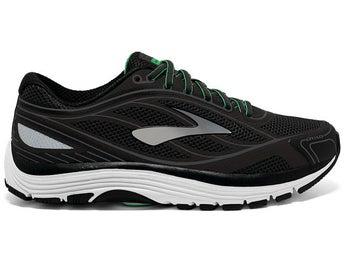 1346b435569 Brooks Dyad 9 Men s Shoes Black White Green 2E