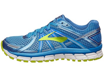 aab6d8624e6 Brooks Adrenaline GTS 17 Women s Shoes Azure Blue Lime