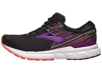 71b6d9f55f4 Brooks Adrenaline GTS 19 Women s Shoes Black Purple