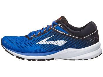 82a0b9ef1b7 Brooks Launch 5 Men s Shoes Blue Black Orange