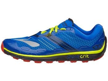 2ecfde79877 Brooks PureGrit 5 Men s Shoes Electric Blue Black Lime