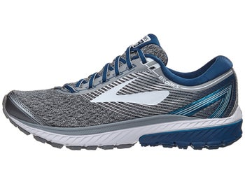 b82898074f5 Brooks Ghost 10 Men s Shoes Silver Blue White
