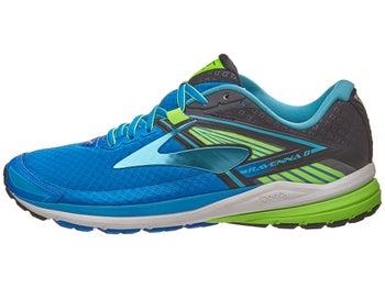 93e155d1bc8e5 Brooks Ravenna 8 Men s Shoes Electric Blue Black Green