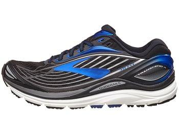 2c932927483 Brooks Transcend 4 Men s Shoes Black Electric Blue