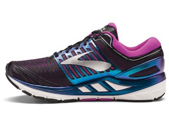 b9d68cc9938 Brooks Transcend 5 Women s Shoes Black Purple Multi