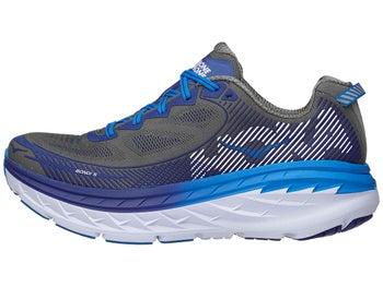 new arrivals d8fef d14db HOKA ONE ONE Bondi 5 Men's Shoes Charcoal Gray/Blue