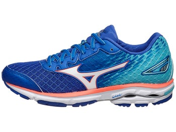 official photos 02301 16c63 Mizuno Wave Rider 19 Women's Shoes Dazzling Blue