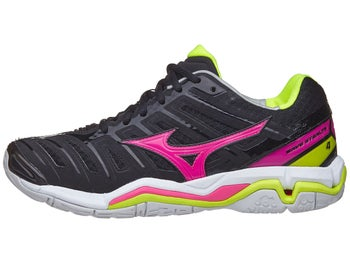 c17191aa95ef Mizuno Wave Stealth 4 Women's Netball Shoes Black/Pink