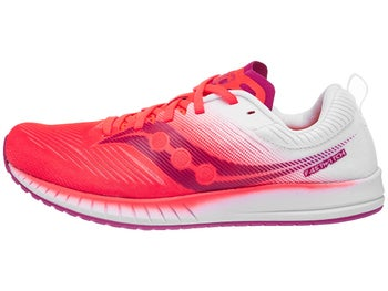 4972ed326163 Saucony Fastwitch 9 Women s Shoes ViziRed White