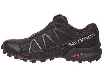 41ec3460b6e Salomon Speedcross 4 Women s Shoes Black Metallic